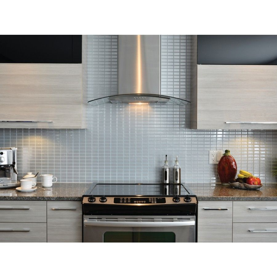 "These Stainless Steel Tiles Come In 10""x10"" Sheets For $8"
