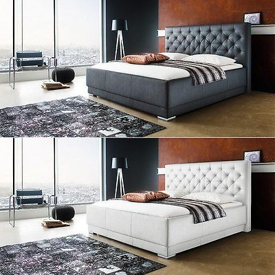 Polsterbett Pisa Doppelbett Bettgestell Bett inkl