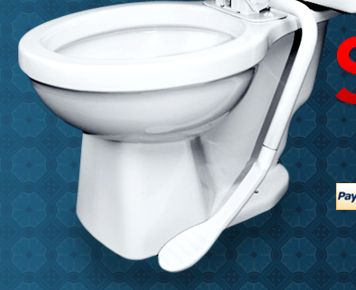 Brilliant Easyseat The Toilet Seat With A Pedal 39 95 Pdpeps Interior Chair Design Pdpepsorg