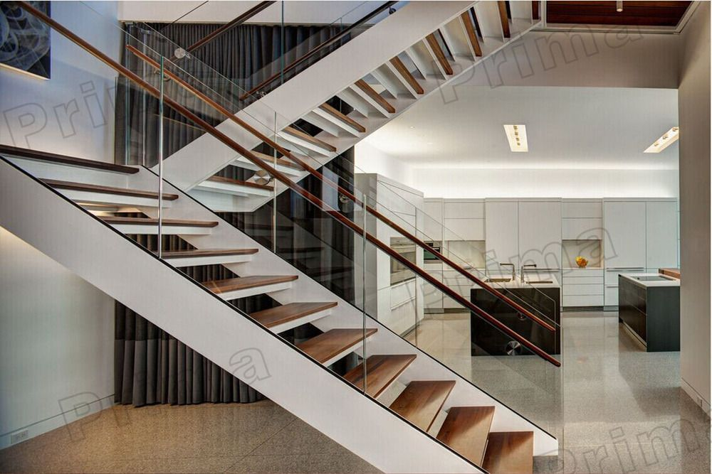 Modern Glass Staircase Design #stairs Pinned By Www.modlar.com