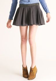 Shortest pleated miniskirt evar