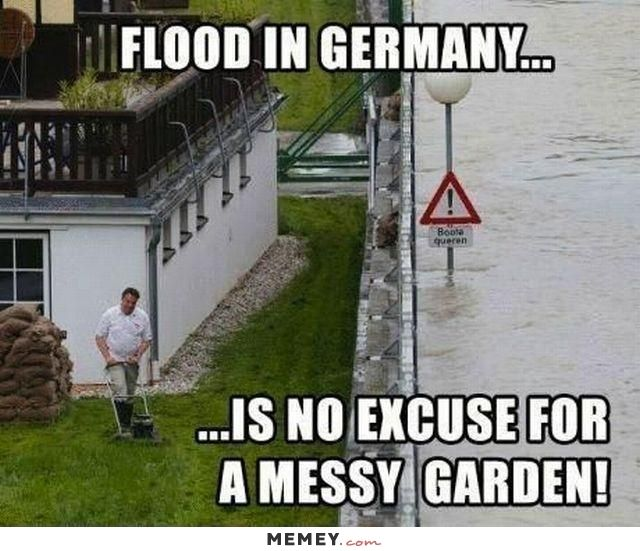 Funny Flood Grass Germany Jpg 640 551 Wtf Funny Funny Pictures Crazy Funny Memes