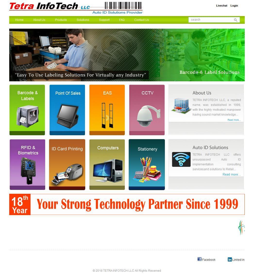 Tetra Info Tech Electronics Trading Company Al Zahraa Techno Centre