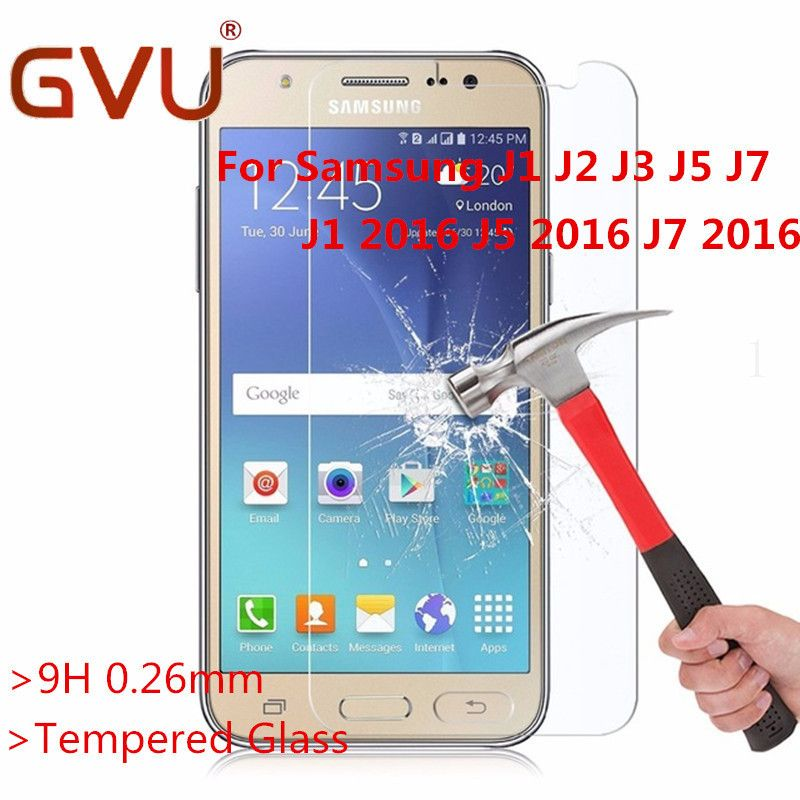 Tempered Glass For Samsung Galaxy J1 J2 J3 J5 J7 Premium Explosion Screen Protector Film for samsung J1 J3 J5 J7 2016 Glass
