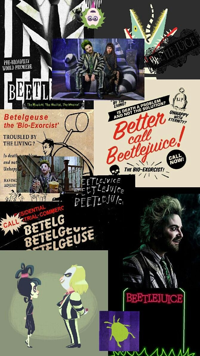 Beetlejuice broadway wallpaper Tumblr (With images