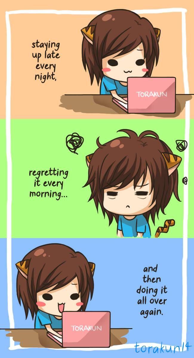 Torakun Comics :: Daily routine