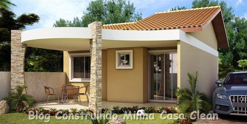 20 fachadas de casas pequenas e super modernas jogo - Casas super pequenas ...
