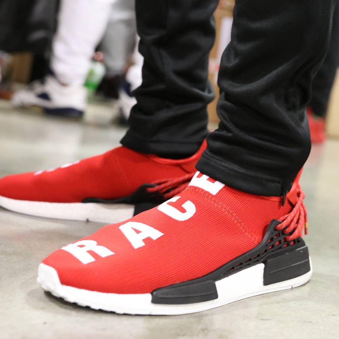 81ca25affe9 Pharrell x adidas NMD Human Race     Scarlet Red