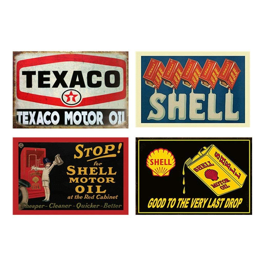 Material Metal Tin Not Rust Old Vintage Signs Printed Using