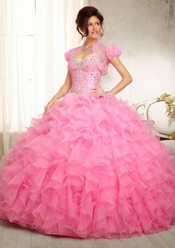 Excelentes vestidos de 15 años estilo princesa   vestidos increibles ...