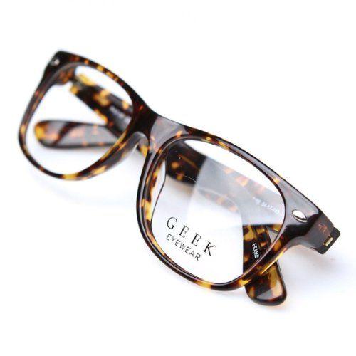 aa90fc6f81b Geek Eyewear Rad09 Vintage Retro Wayfarer Designer Eyeglasses Tortoise  Frames coupon