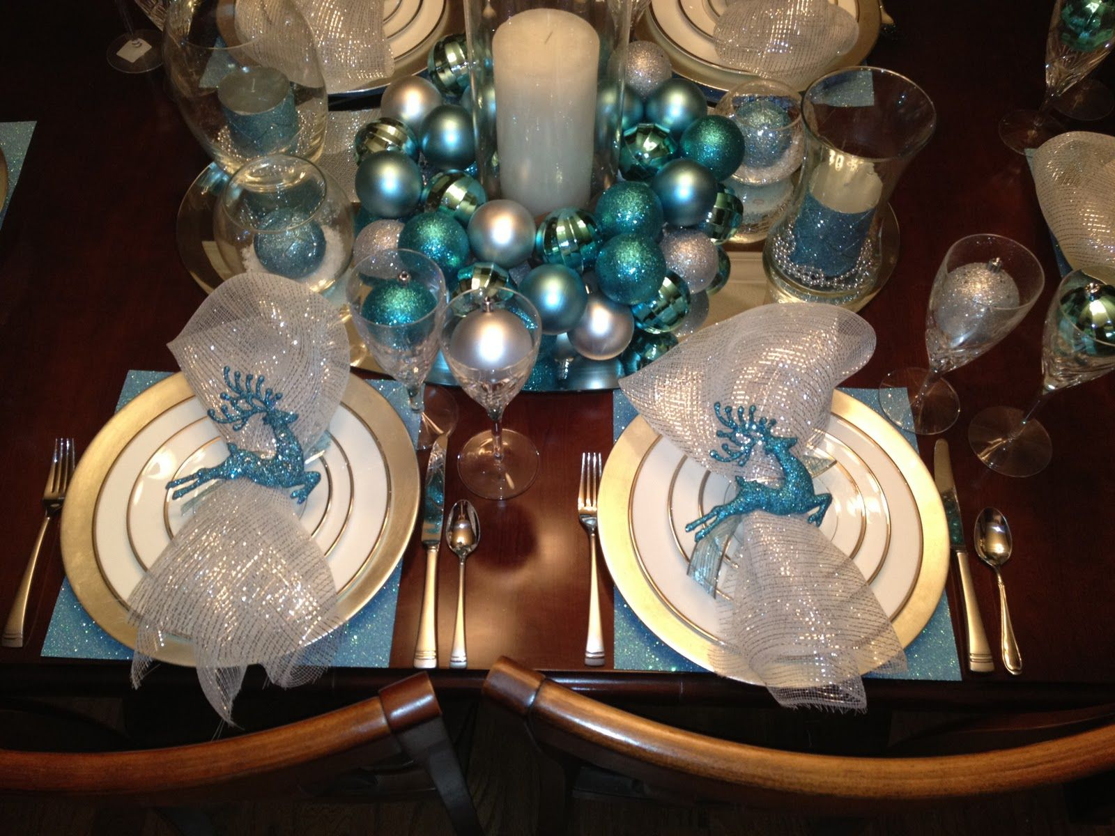 Silver Tablescapes So What Do You Guys Think I Think