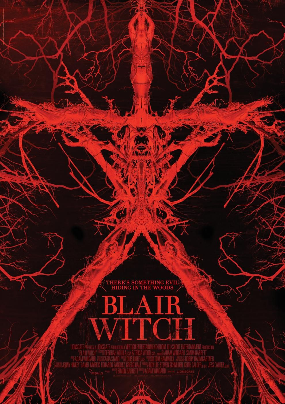 Blair Witch 2016 Bilder Blair Witch Project The Witch Film Horrorfilm Poster