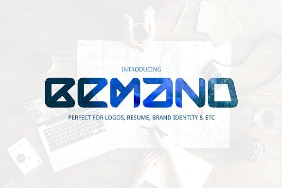 Bemand   A Brand Identity Font by Sameeh Store on @creativemarket