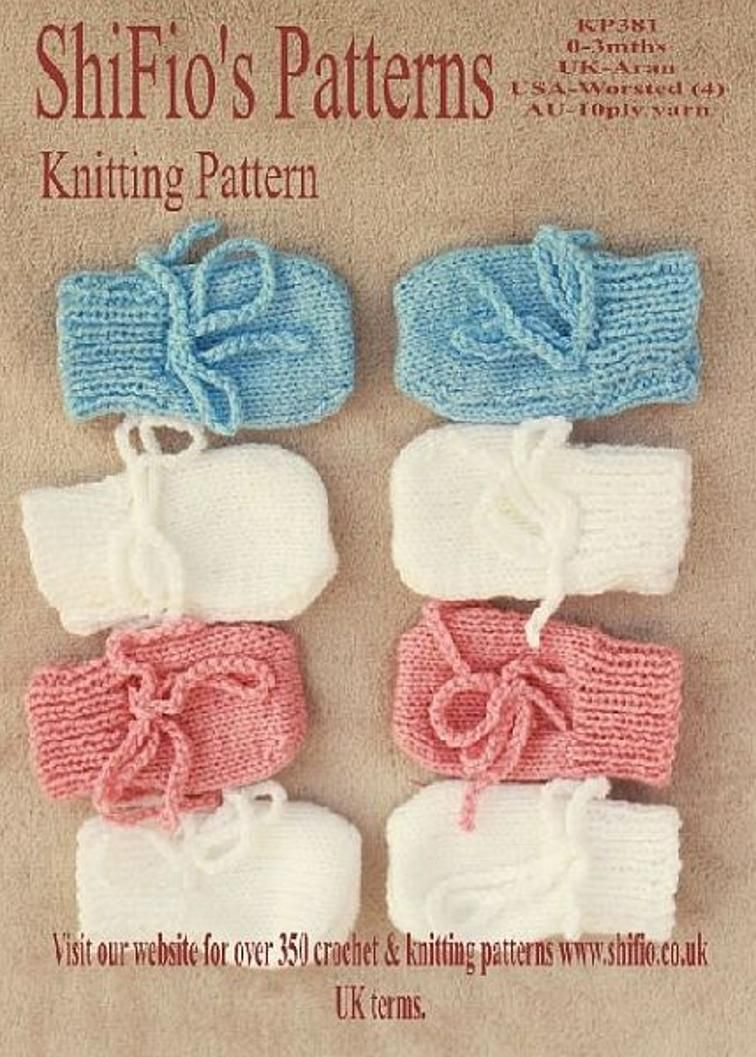 Free Baby Mittens Knitting Pattern FP11 | Craftsy | Baby ...