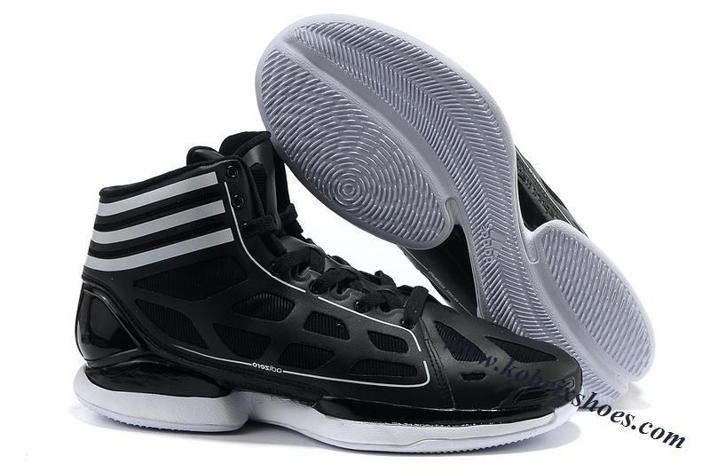 factory price c2224 447c0 Adidas Adizero Crazy Light Derrick Rose Shoes Black White