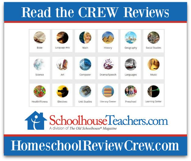 Welcome to the first Homeschool Review Crew review for 2018. Our new members and veteran crew have been reviewing our sister company SchoolhouseTeachers.com this past month and are all looking forw…