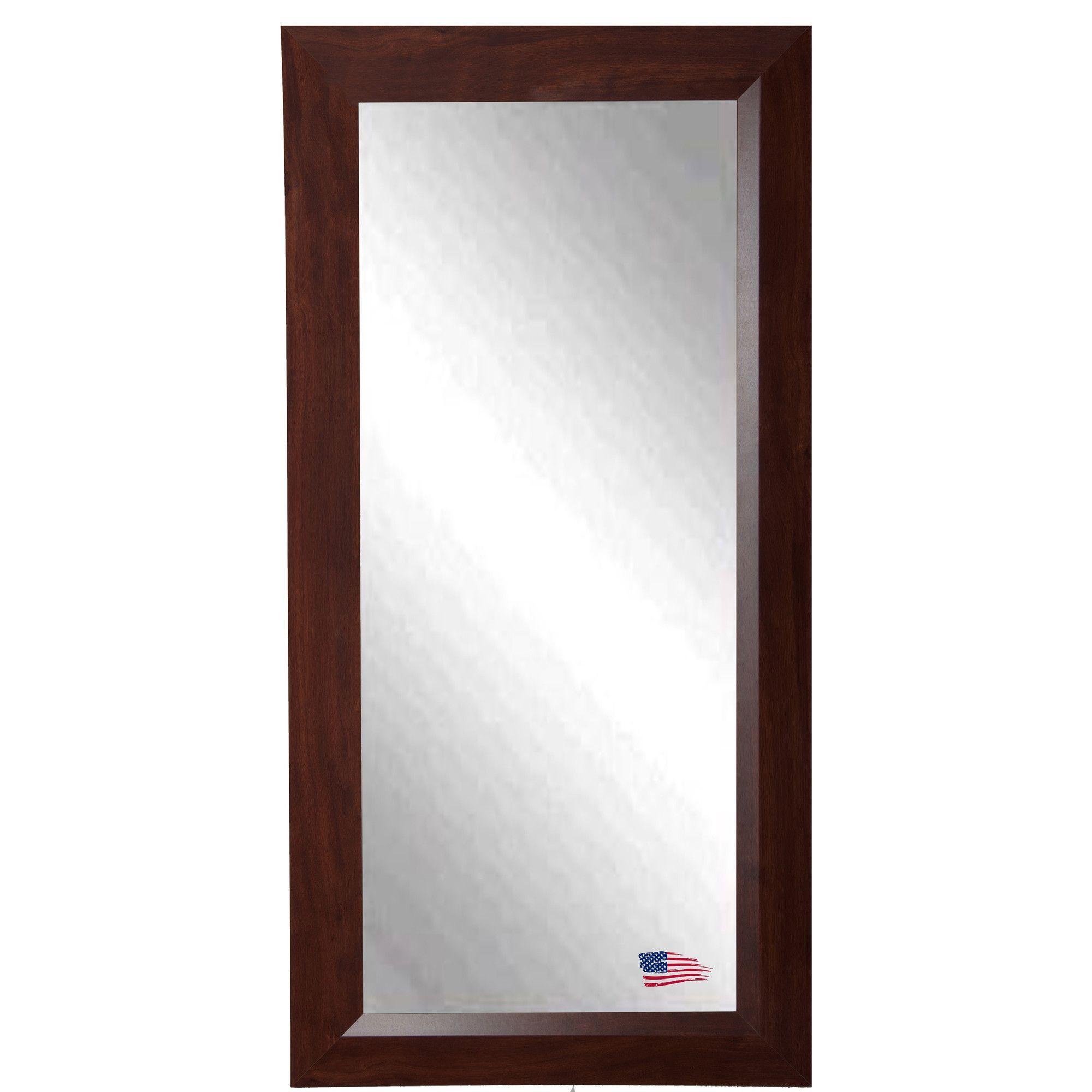 Walnut Tall Mirror