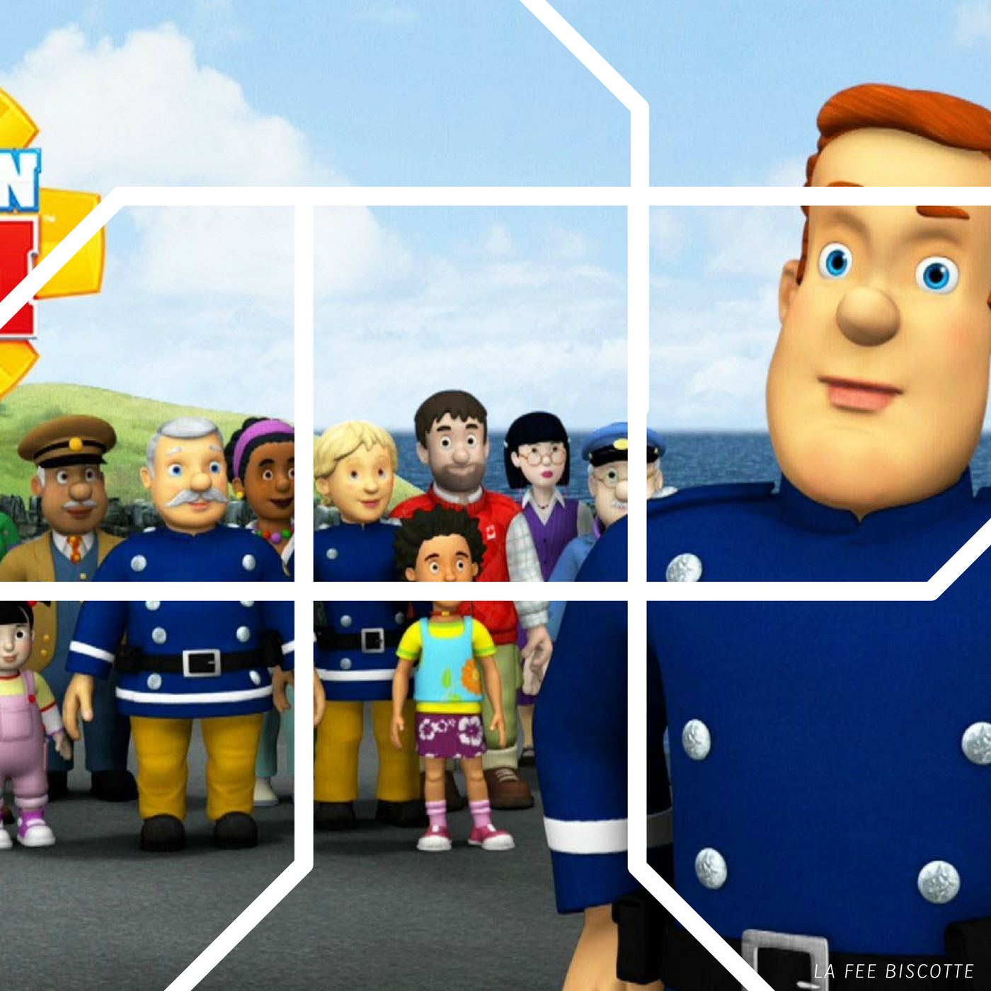 Puzzle sam le pompier gratuit sam le pompier housse de - Housse de couette sam le pompier ...