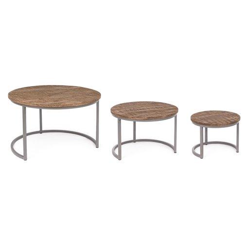 Williston Forge Luz 3 Piece Coffee Table Set 3 Piece Coffee