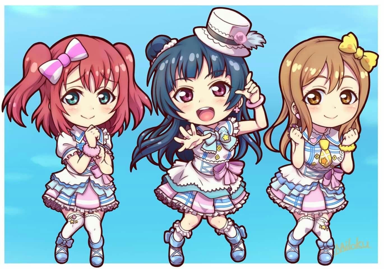 Love Live! Sunshine First Years Sunshine, Idol, Cool girl