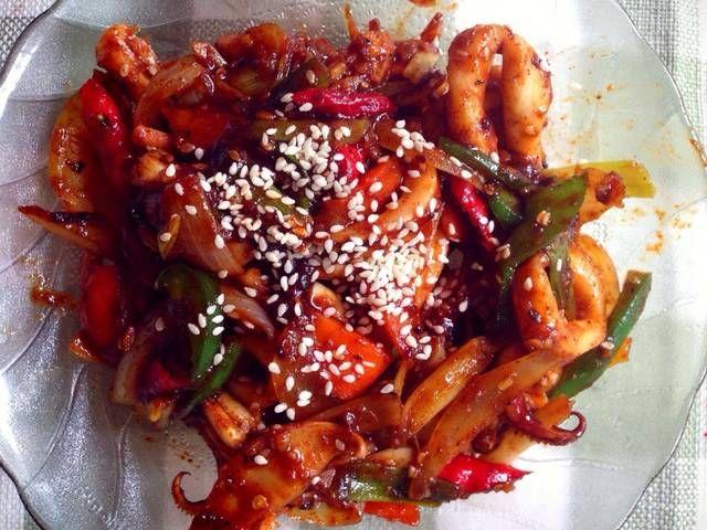 Maknyuss 10 Resep Masakan Korea Versi Halal Ala Indonesia Kuliner Club Iyaa Com Resep Masakan Korea Masakan Korea Masakan