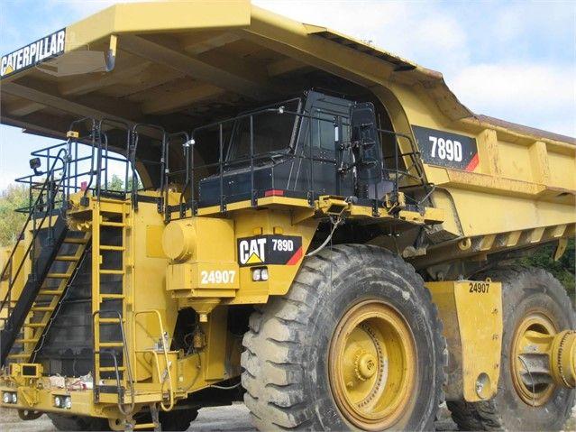2011 CAT 789D at MachineryTrader com | Caterpillar | Monster trucks
