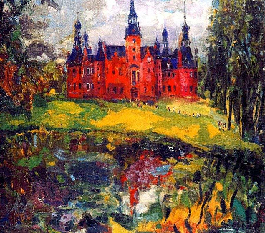 "by Joan Abello, ""Castle of Doidonck"""