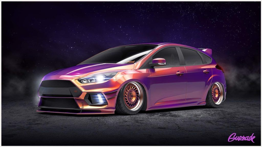 Ford Focus Rs Car Art Wallpaper Ford Focus Rs Car Art Wallpaper