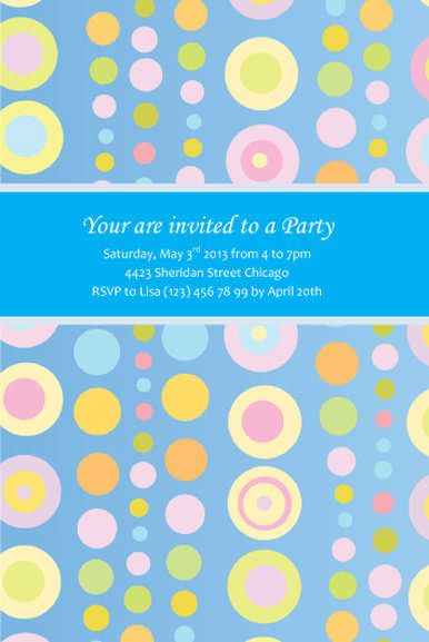Free Kids Party Invitation Templates Birthday Party Princess