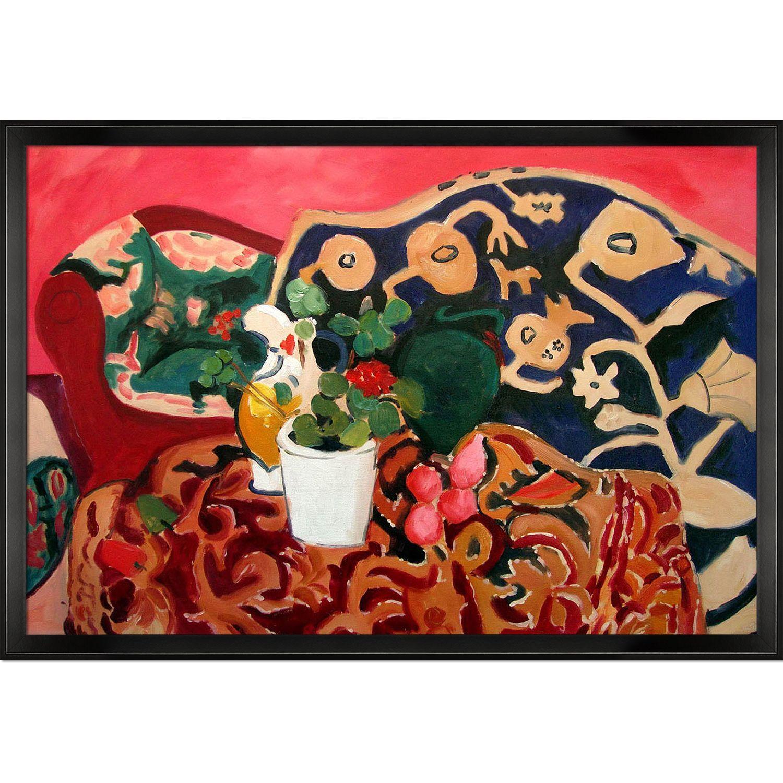 Henri Matisse \'Spanish Still Life\' Hand-painted Framed Art ...