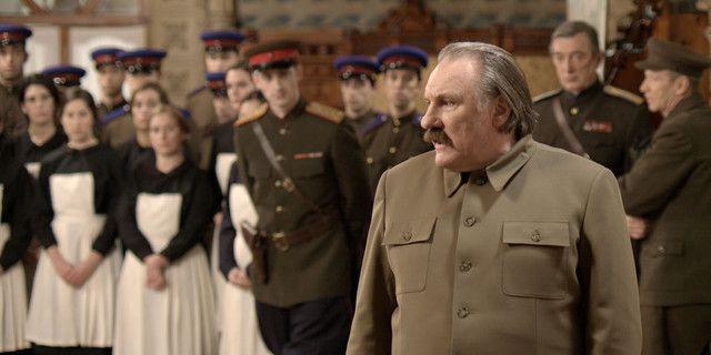 """Depardieu dans """"Le divan de Staline"""""""
