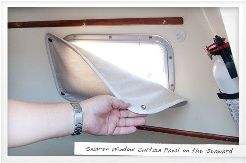 boat window insulation | dan smith, boating and winter