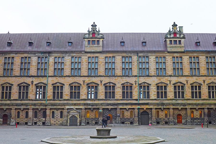 Tour the Maritime Museum of Denmark and Kronborg Castle--The main courtyard at Kronborg Castle