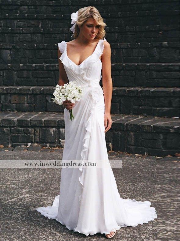 Vestidos De Novia Para Playa Largos De In Wedding Dress Vestidos De Novia Vestidos De Novia Con Mangas Vestidos De Boda