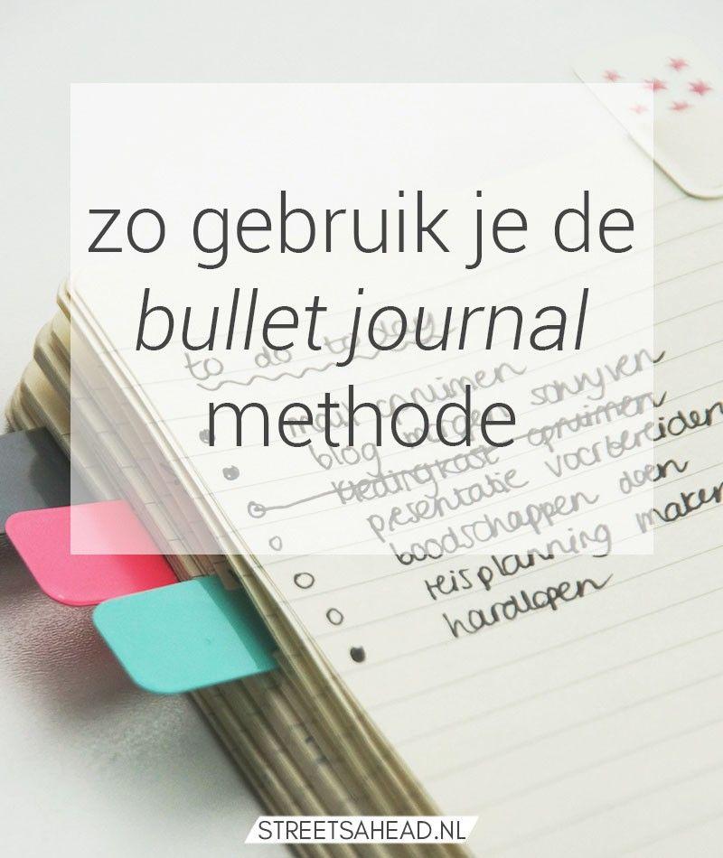 De bullet journal methode: wat is het en hoe begin je ermee? (+ freebie)
