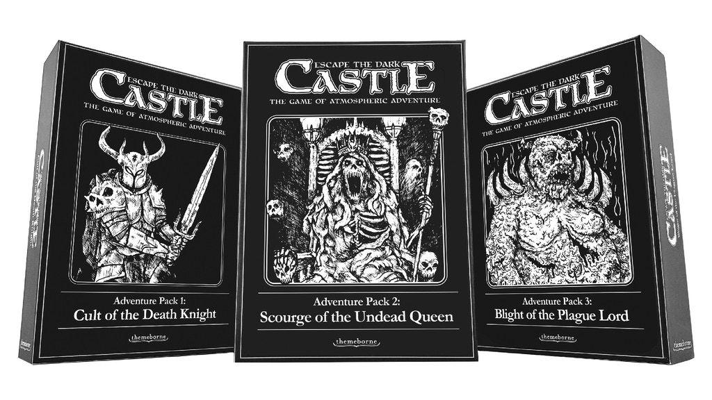 Project Image Dark castle, Death knight, Board games