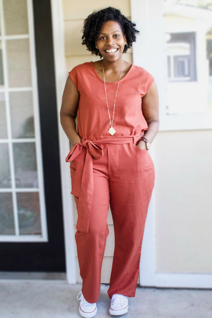 Catalina Dress and Forsythe Trousers with Brittany Jones | Pinterest