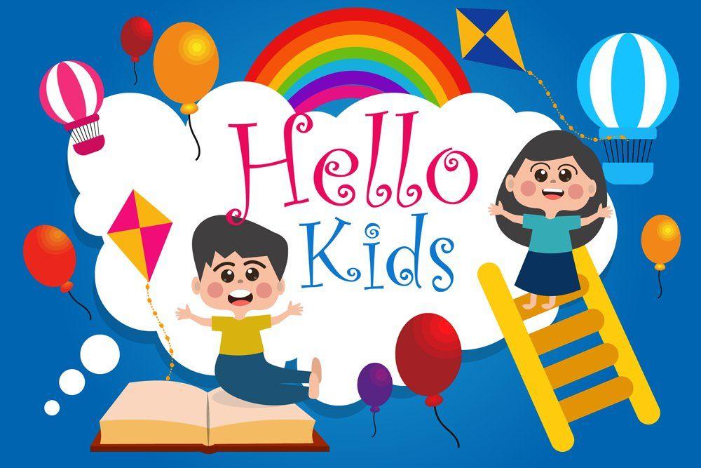 Children summer camp illustration in 2020 summer camps