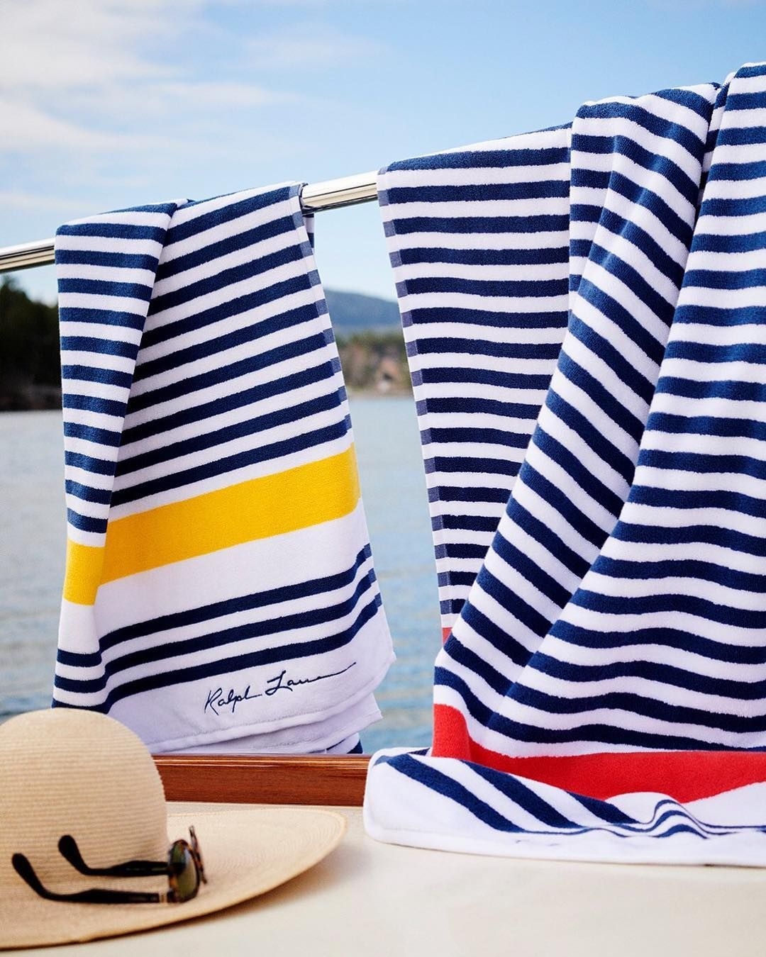 Take A Dip Nautical Stripes Perfect For The Beach Boat Or Pool