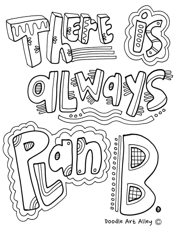Growth Mindset Coloring pages to use in the classroom and
