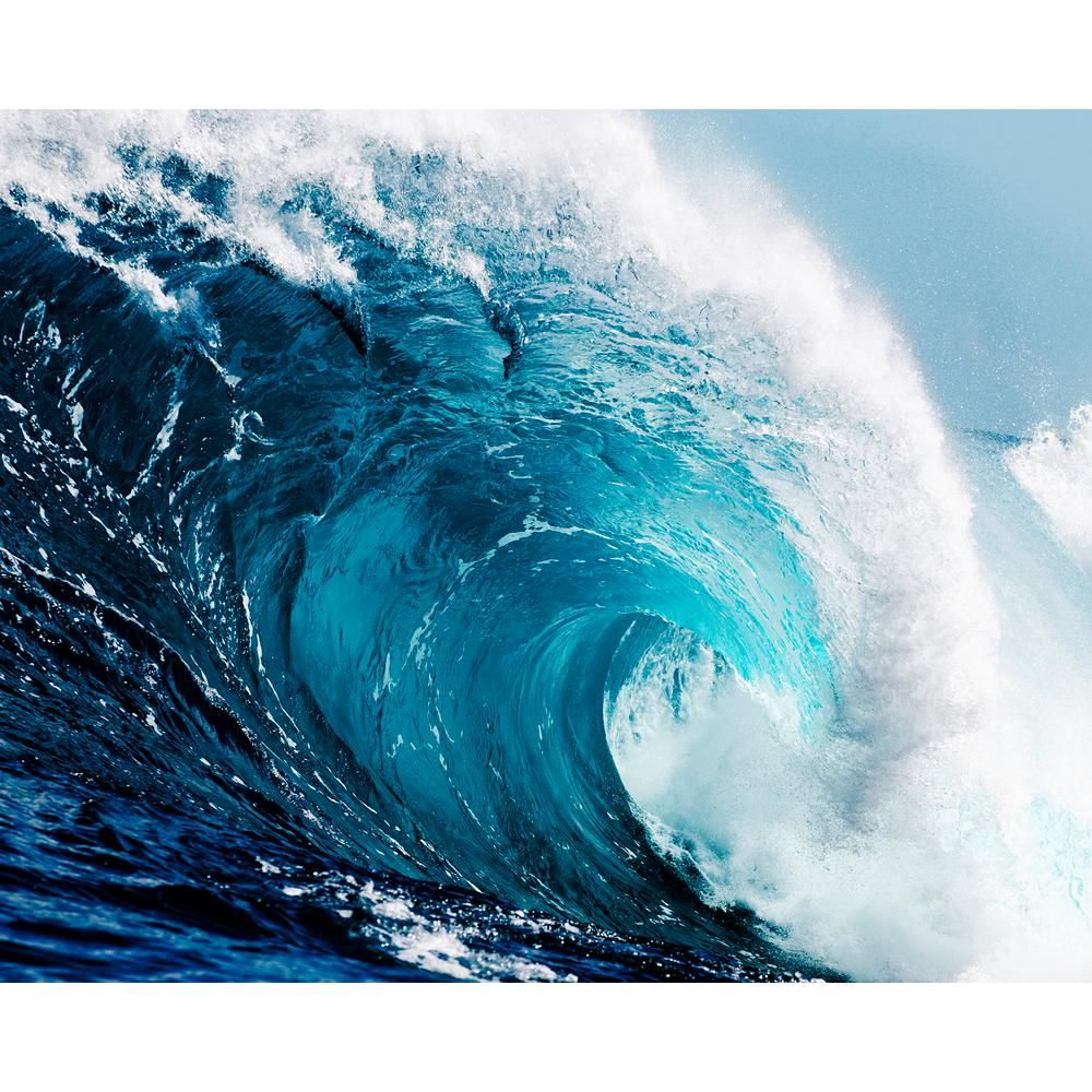 Wall Rogues Ocean Waves Wall Mural Waves wallpaper