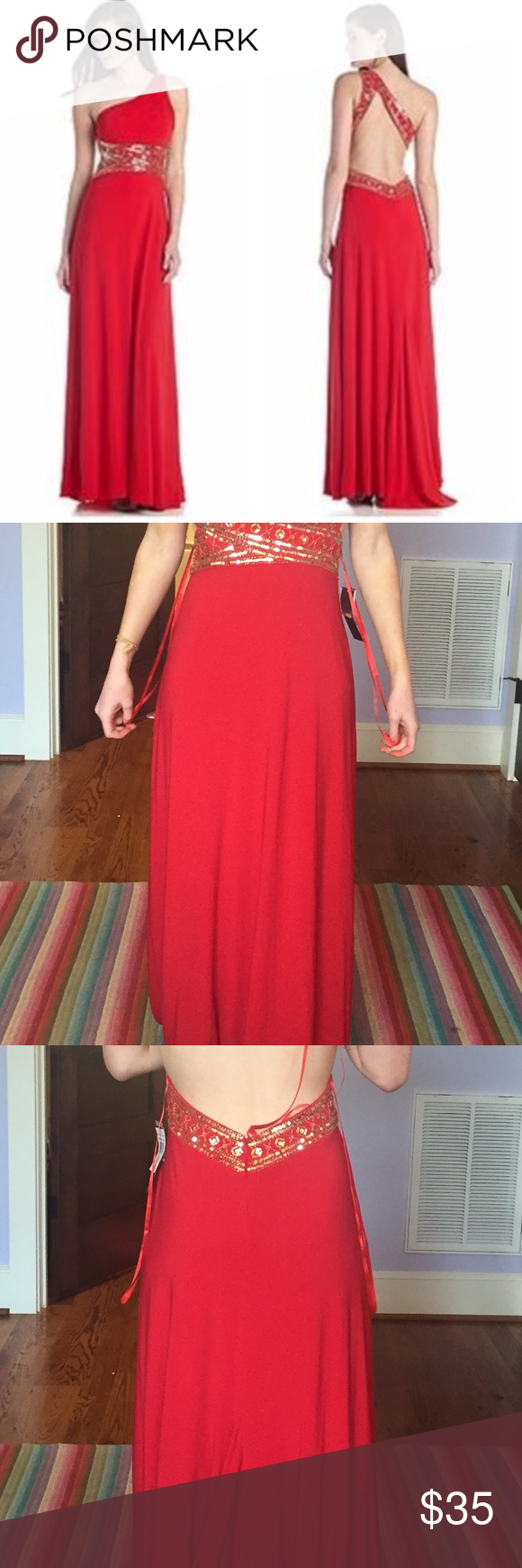 Betsy and adam red prom dress size dress prom prom and sequins