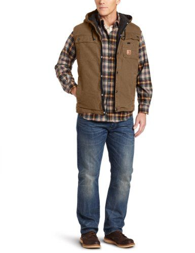 carhartt men s big tall sandstone duck hooded multi pocket on men s insulated coveralls with hood id=80884