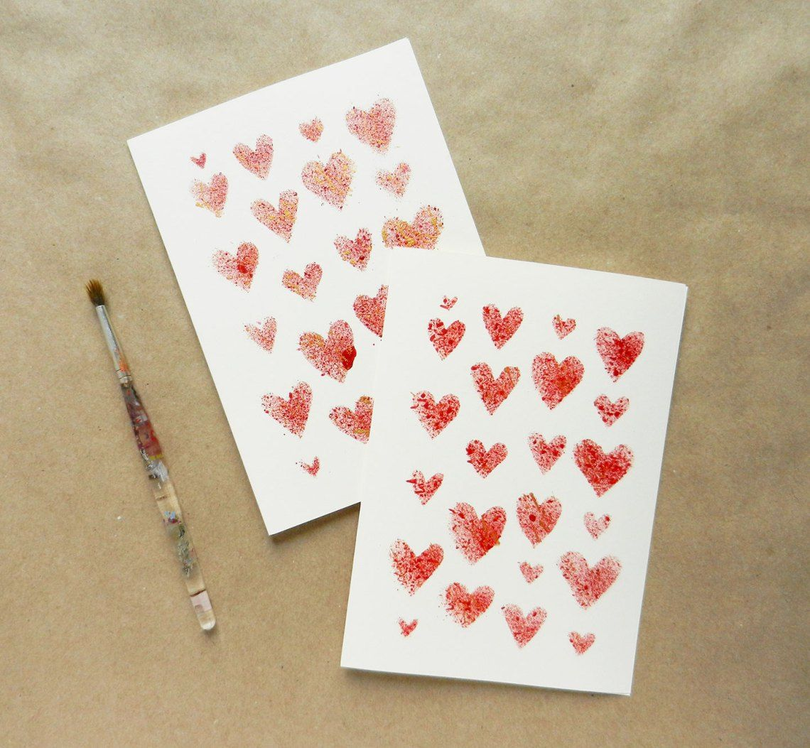 Handmade Valentines Day Card Tutorial  Card tutorials Tutorials