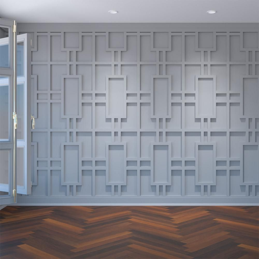 Ekena Millwork 3 8 In X 15 1 2 In X 23 3 8 In Large Hastings White Architectural Grade Pvc Decorative Wall Panels Walp16x24has The Home Depot Pvc Wall Panels Decorative Wall Panels White Wall Paneling