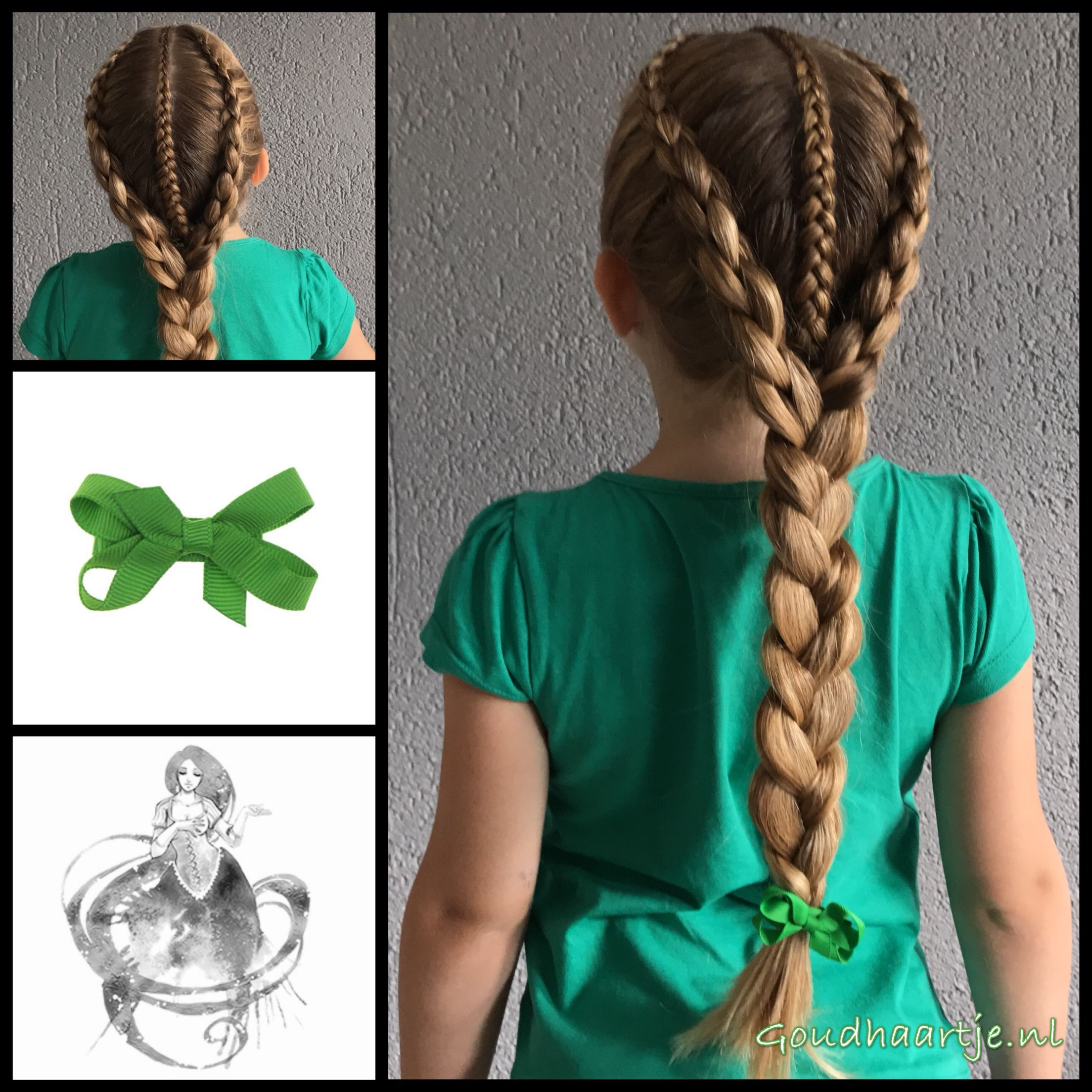 Peinado hermoso trenzas pinterest hair hair styles and braids