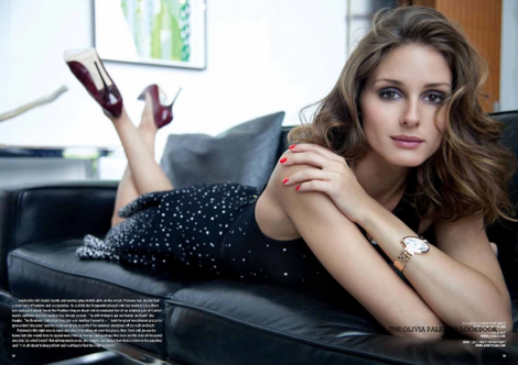 Olivia Palermo in an Issa dress