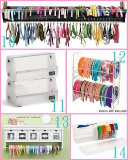 The Scrap Shoppe Creative Ribbon Storage Ideas  sc 1 st  Pinterest & The Scrap Shoppe: Creative Ribbon Storage Ideas | Office/Craft Room ...