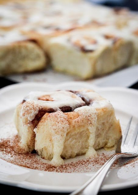 { a swoonful of sugar } : Traditional Cinnamon Rolls (Yeasted)